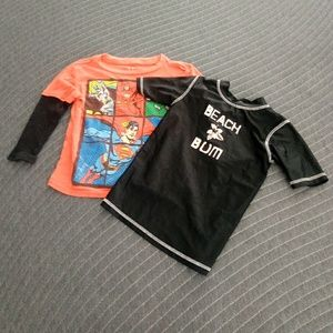 Boys size 3t lot of 2 tops